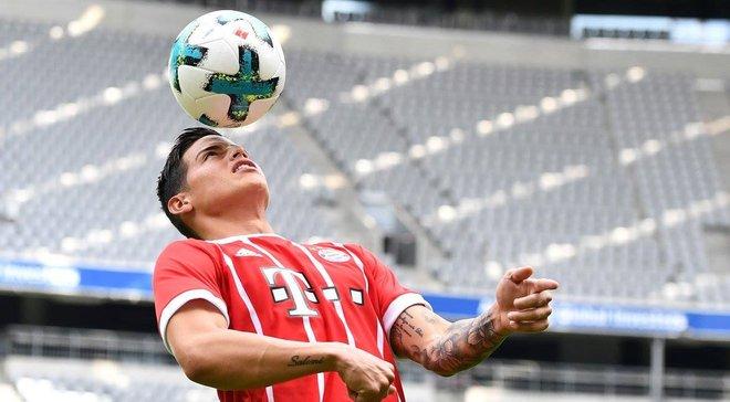Фанати Баварії розкупили усі футболки Хамеса в перший день продажу