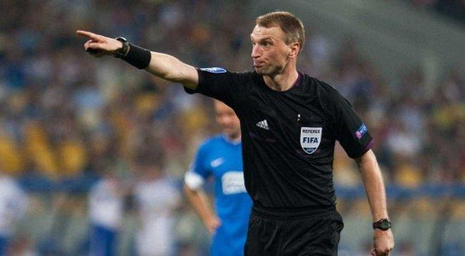 Жабченко рассудит матч Лиги чемпионов Вардар – Мальме