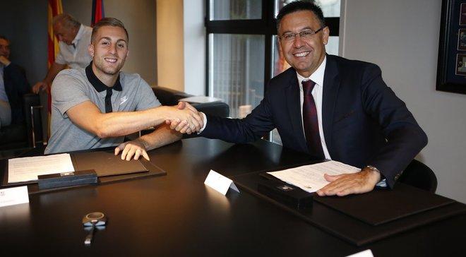 Деулофеу подписал контракт с Барселоной
