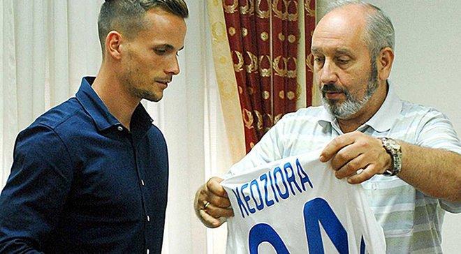 Динамо презентувало Кендзьору з 49-м номером, хоча він заявлений під 94-м