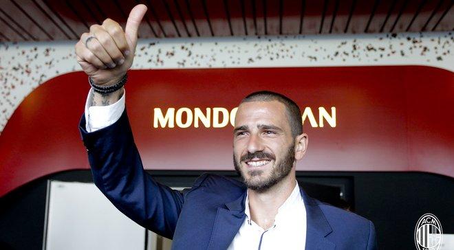 Бонуччі підписав контракт з Міланом та стане новим капітаном команди, – Ді Марціо
