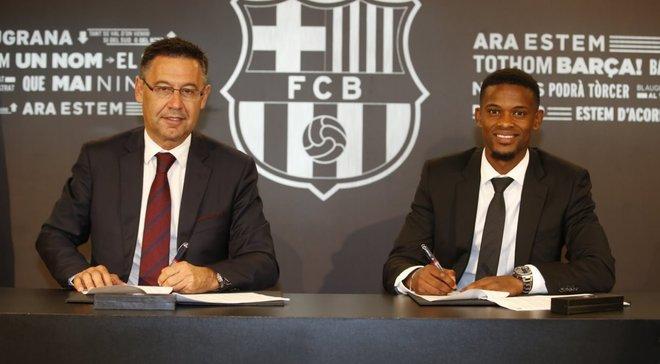 Семеду стал игроком Барселоны