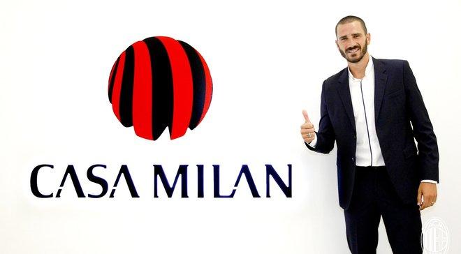 Милан объявил о трансфере Бонуччи из Ювентуса