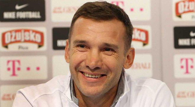 Шевченко: Свой первый год работы во главе сборной Украины оцениваю положительно