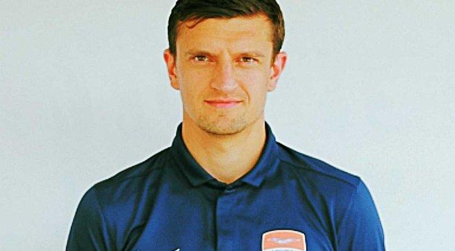 Белый стал игроком ФК Мариуполь
