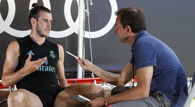 Бейл: Не думал об уходе из Реала, я счастлив в этом клубе