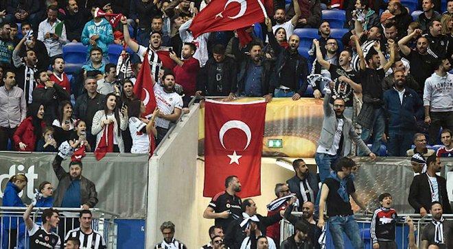 Бешикташ не смог обжаловать в УЕФА свою условную дисквалификацию в еврокубках