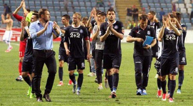 Время начала матча Черноморец – Сталь изменено