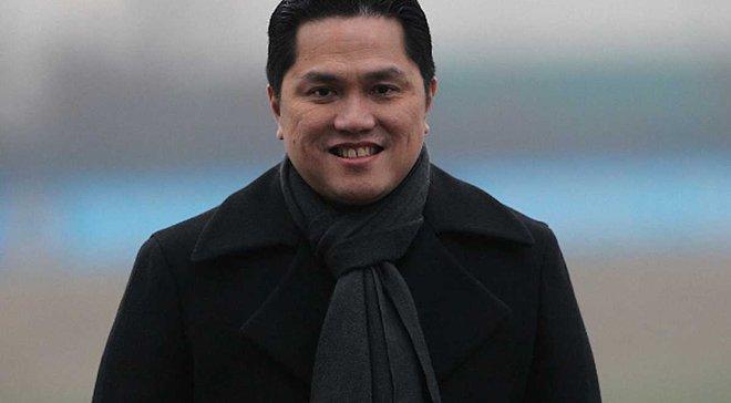 Тохир подтвердил, что покинет пост президента Интера