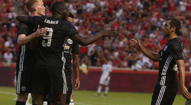 Манчестер Юнайтед победил Реал Солт-Лейк, Лукаку забил красивый дебютный гол