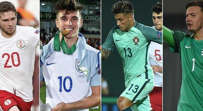 10 героїв Євро-2017 U-19 – нападник Шахтаря Арабідзе увійшов у рейтинг