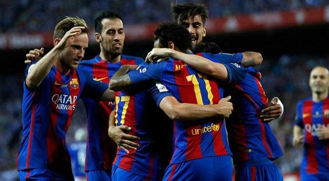 Барселона оголосила про рекордний дохід за сезон-2016/17 – 708 млн євро