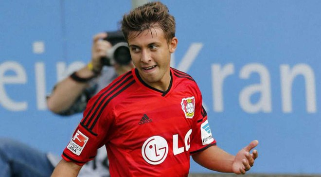 Юрченко забил гол за Байер в товарищеском матче
