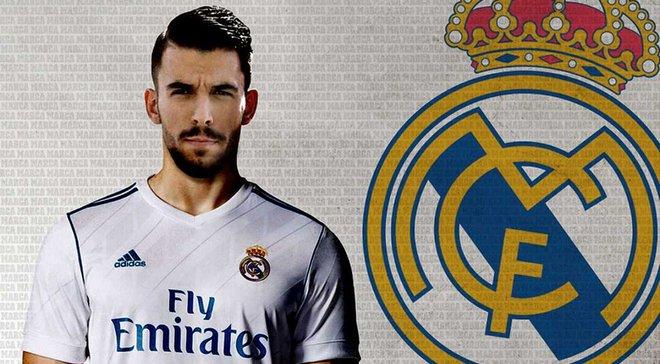 Реал официально представил Себальоса