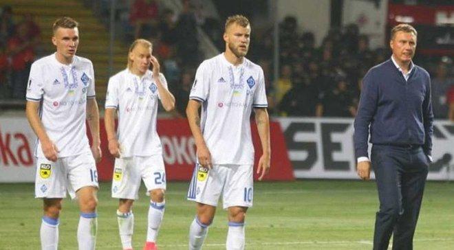 Динамо объявило заявку на матчи против Янг Бойз