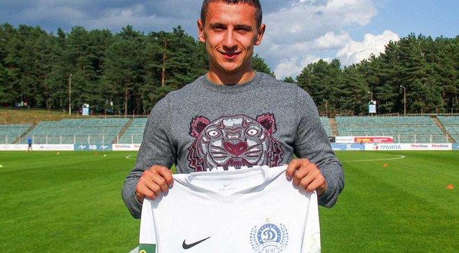 Хльобас дебютував за Динамо Мінськ вильотом з Кубка Білорусі