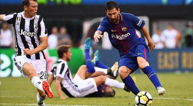 Месси против Ювентуса выдал лучший матч в карьере на сборах
