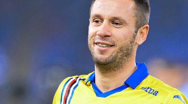 Кассано: Решил, что не буду больше играть в футбол