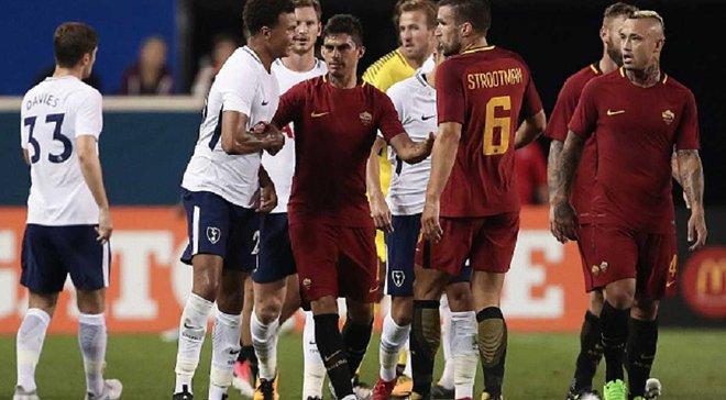 Рома перемогла Тоттенхем на Міжнародному кубку чемпіонів