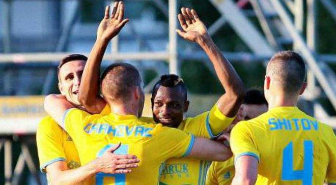 Ліга чемпіонів, третій кваліфікаційний раунд: Астана несподівано перемогла Легію
