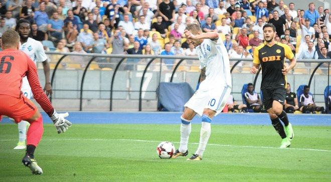 Динамо убедительно победило Янг Бойз