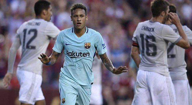 Международный кубок чемпионов: Барселона победила Манчестер Юнайтед благодаря голу Неймара, Ювентус перестрелял ПСЖ
