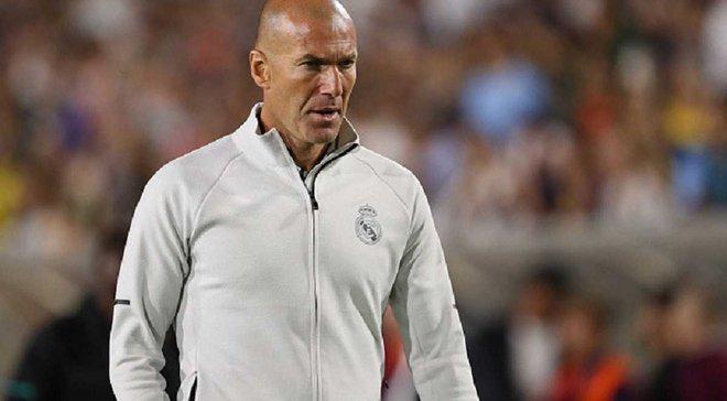 Зидан: Я недоволен результатом матча с Манчестер Сити, но Реал сыграл неплохо