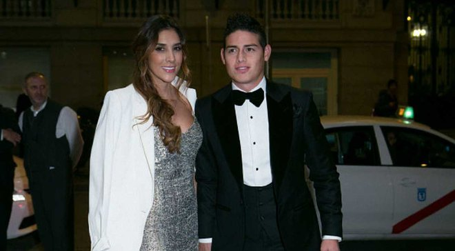 Хамес Родрігес розлучився із сестрою Оспіни після 6 років шлюбу
