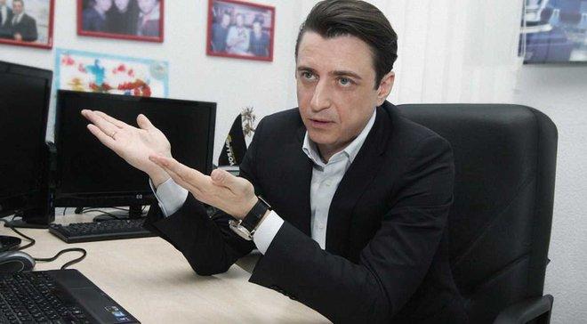 Денисов: Телеканал Ровно 1 незаконно проводил съемку матча Мариуполь – Верес