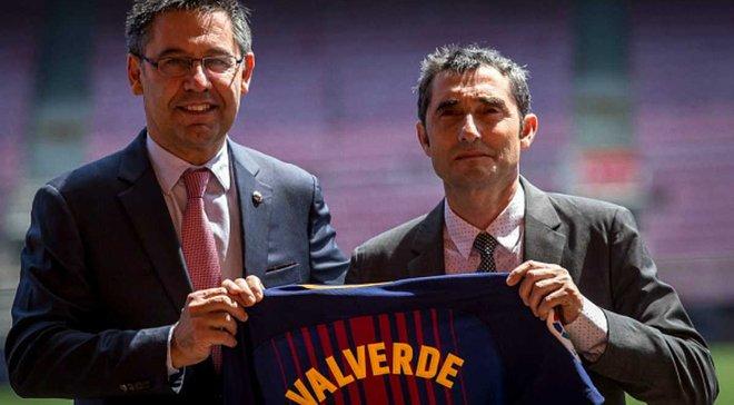 Бартомеу: Вальверде проведе маленьку революцію в Барселоні