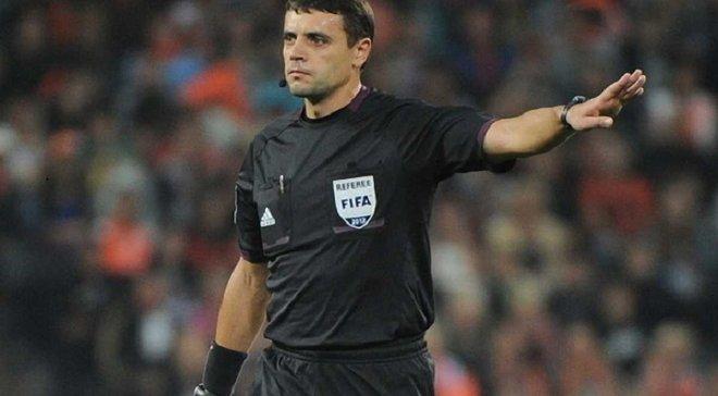 Абдула и Бойко рассудят матчи Лиги Европы