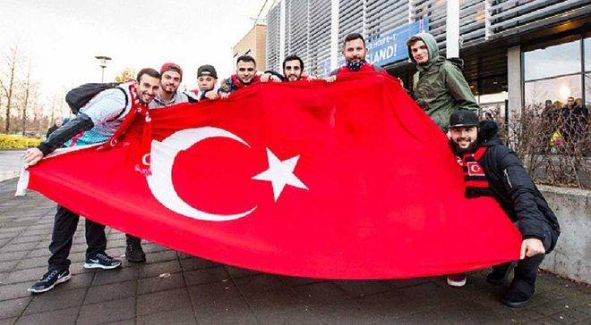 Туреччина оштрафована за поведінку своїх фанатів під час матчу з Україною