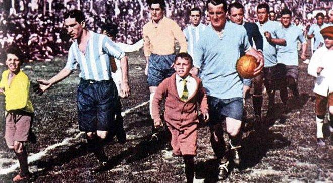 Ровно 87 лет назад состоялся первый финал Чемпионата мира Уругвай – Аргентина