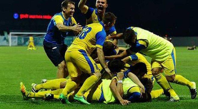 Збірна України здобула срібло на Дефлімпіаді-2017, поступившись у фіналі Туреччині