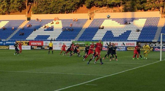 Олимпик – Верес – 0:0 – Видеообзор матча