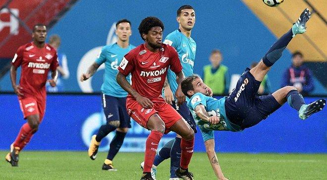 Луїс Адріано став пожежником і зчинив бійку в матчі проти Зеніта, який його Спартак ганебно програв