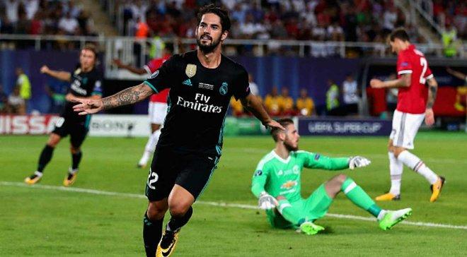 Реал победил Манчестер Юнайтед и завоевал Суперкубок УЕФА