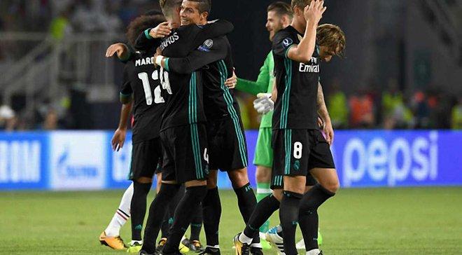 Реал повторил достижение Милана, выиграв Суперкубок УЕФА два года подряд