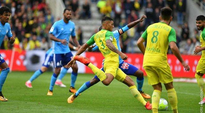 Защитник Нанта сыграл 20 минут против Марселя с перебинтованным плечом – Раньери потратил 3 замены до 25-й