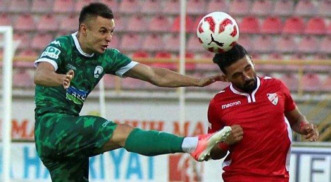 Коркішко забив гол у дебютному матчі за Гіресунспор