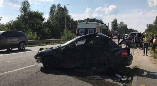 Кортеж Дыминского попал в смертельное ДТП под Львовом