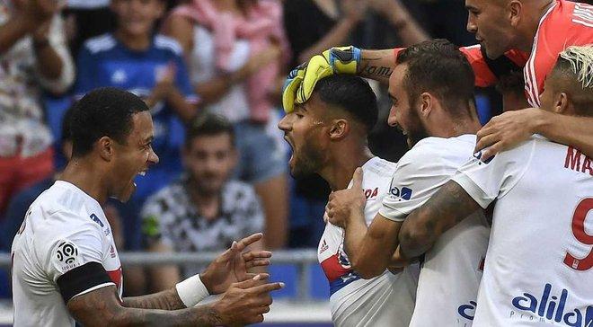 Фекир забил сумасшедший гол с центра поля в драматичном матче Лион – Бордо