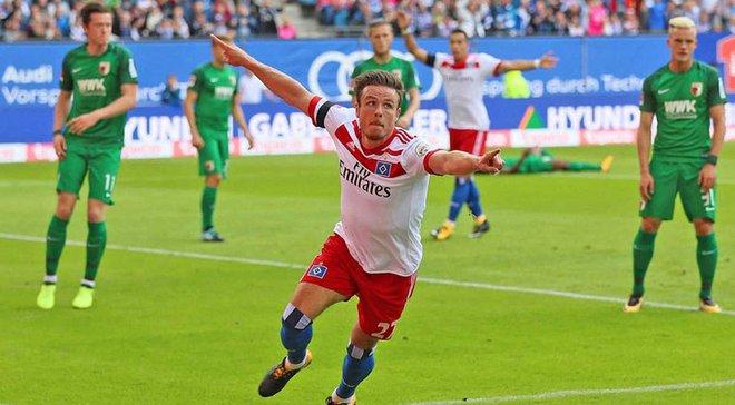 Мюллер так праздновал победный гол за Гамбург, что травмировался и выбыл на 7 месяцев