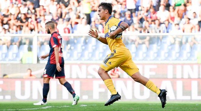 Ювентус здобув вольову перемогу над Дженоа, Болонья мінімально обіграла Беневенто