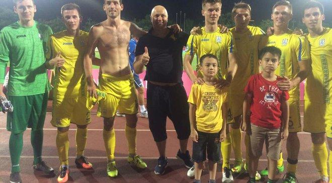 Студенческая сборная Украины победила Аргентину и завоевала 7-е место на Универсиаде