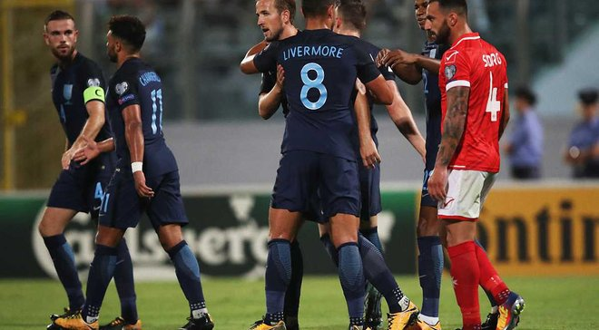 Мальта – Англия – 0:4 – Видео голов и обзор матча