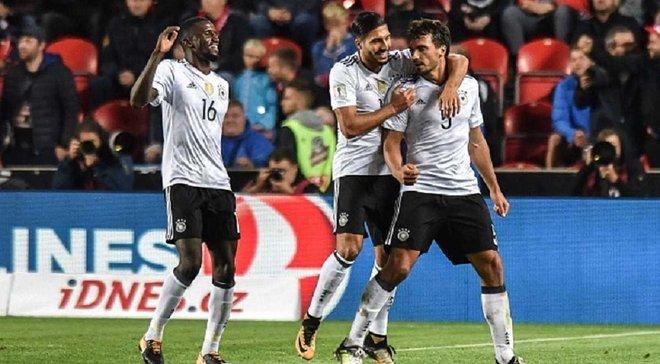 Чехія – Німеччина – 1:2 – Відео голів та огляд матчу