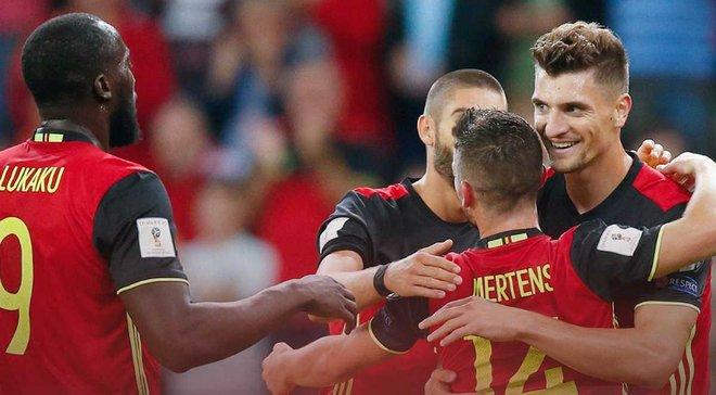 Греция – Бельгия – 1:2 – Видео голов и обзор матча