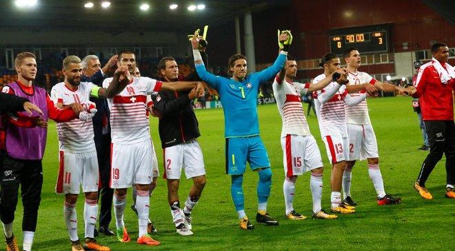 Латвія – Швейцарія – 0:3 – Відео голів і огляд матчу