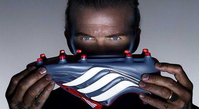 Бекхэм представил эксклюзивные бутсы Predator Precision от Adidas
